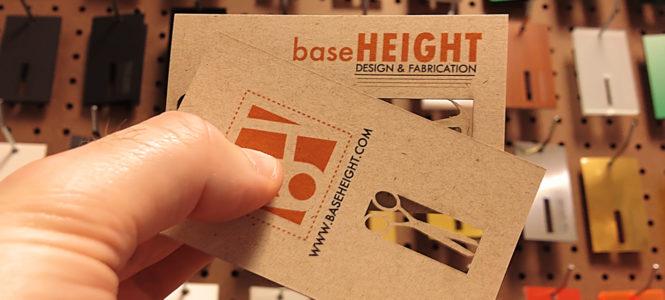 Baseheight Business Card
