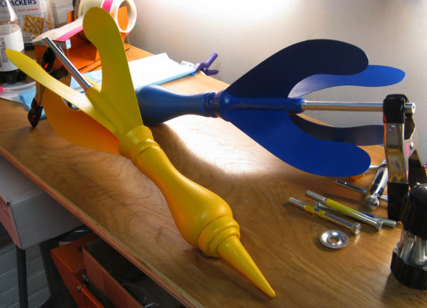 Giant Lawn Dart Props