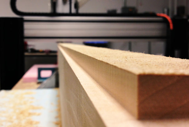 Facing Basswood for Architectural Landscape Model