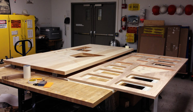 Basswood Architectural Landscape Model Assembly