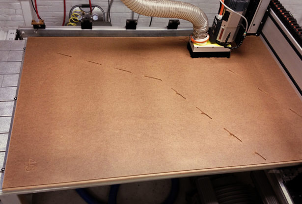 CNC Routing Masonite Panels