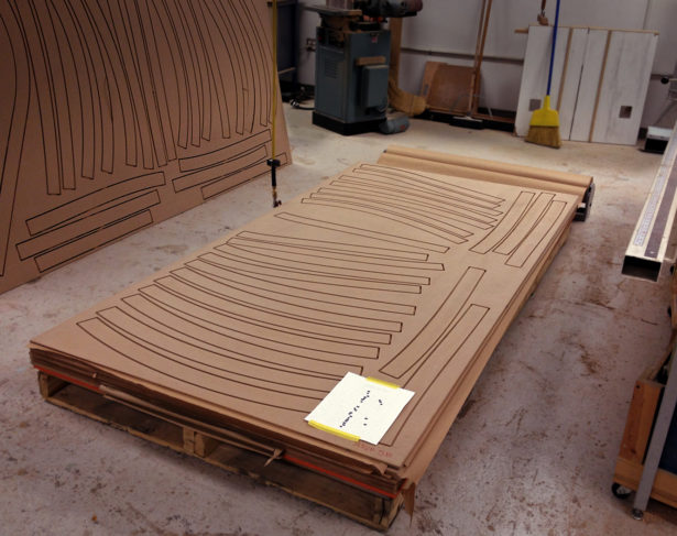 CNC Routing MDF Parts