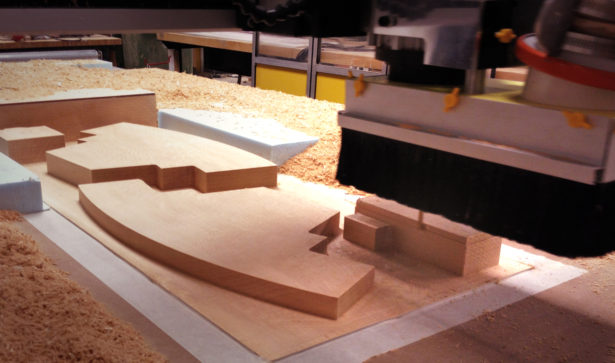 Basswood Architectural Model