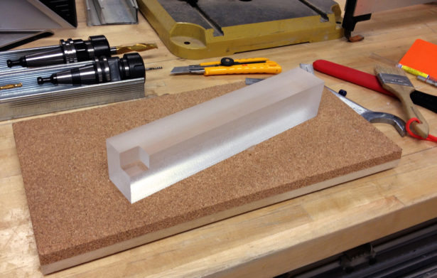 Finishing Parts for Acrylic Architectural Model