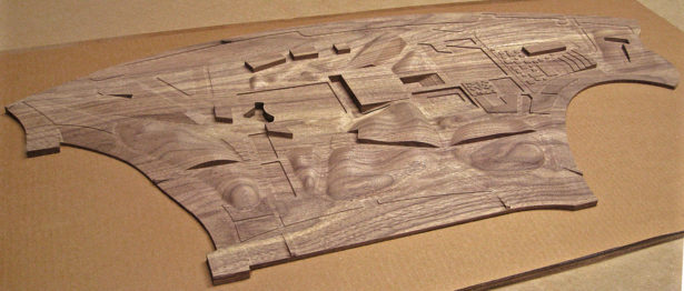 Walnut Architectural Site Model
