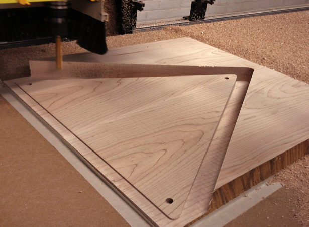 CNC Routing Wood Panels