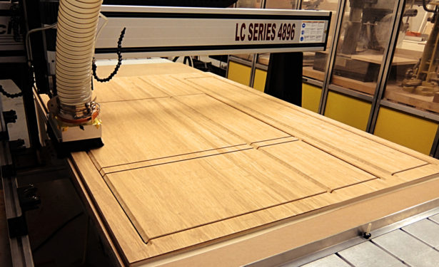 CNC Routing Panels for Mt. Sinai Jewish Center Project