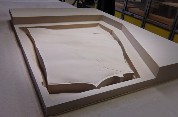Architectural Site Model in Foam