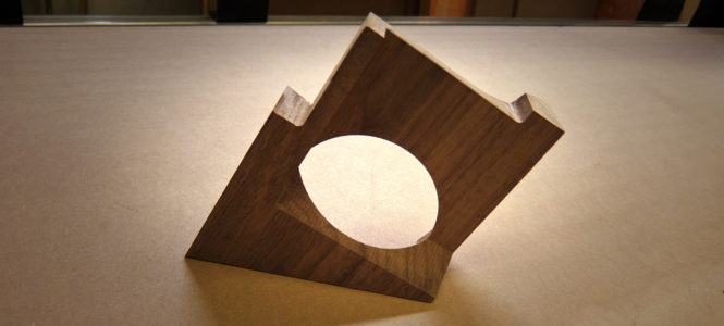 Complex Walnut Parts on the CNC