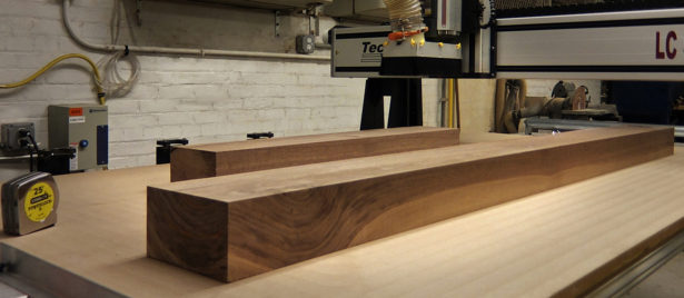 Solid Walnut for Architectural Model