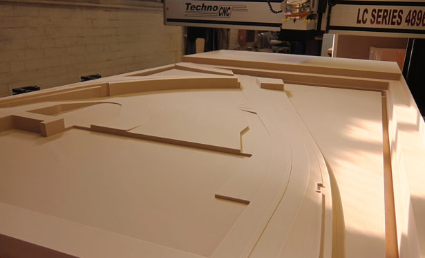 Architectural Site Model in Foam