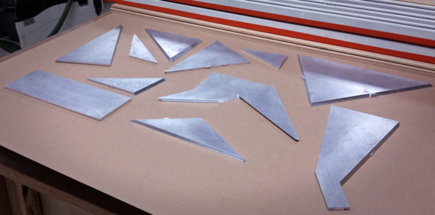 Aluminum Parts for Architectural Model