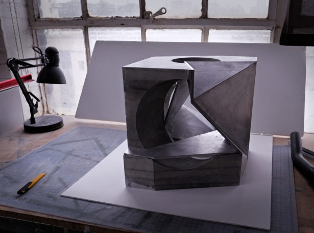 Architectural Model with Aluminum Parts