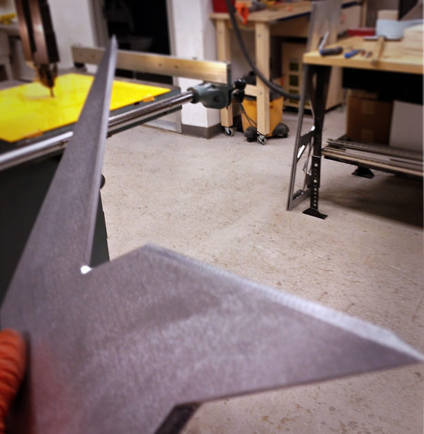 Finishing Aluminum Parts for Architectural Model