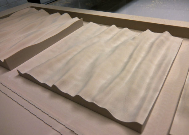 Prototype Foam Panel Patterns