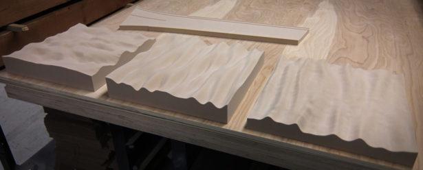 Prototype Foam Panel Patterns