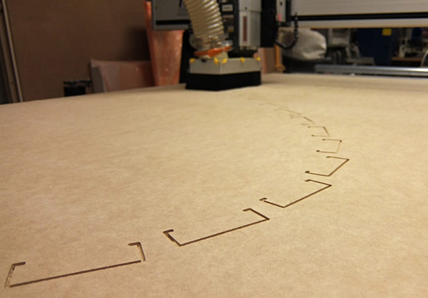 CNC Routing MDF Components