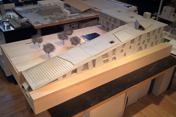 Basswood Architectural Site Model