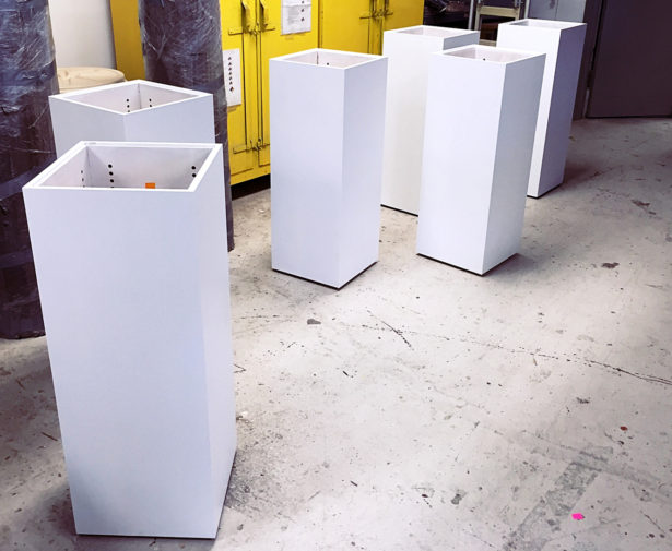 Architectural Model Display Pedestals from Baseheight