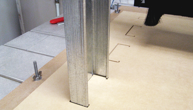 CNC Cut Profiles for Steel Channels