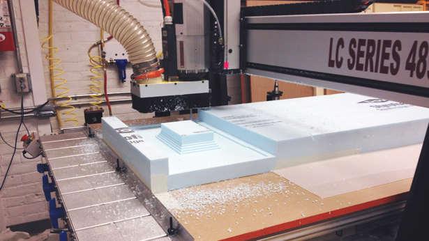 Roughing out form with the CNC