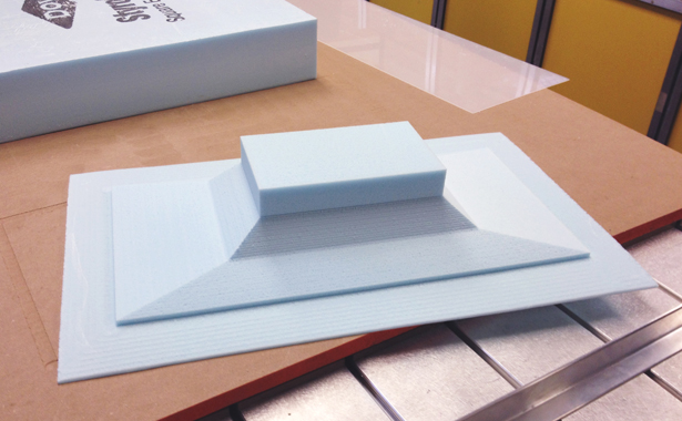 Model for Glass Casting Mold