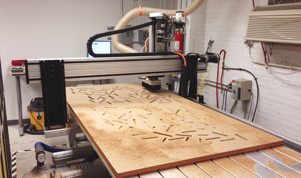 Pocketing Shapes on the CNC