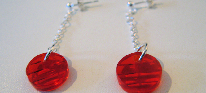 Jewelry From Salvaged Plastic