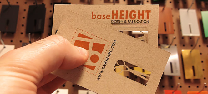Baseheight Business Card