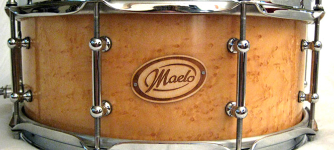 Maelo Drums Nameplates